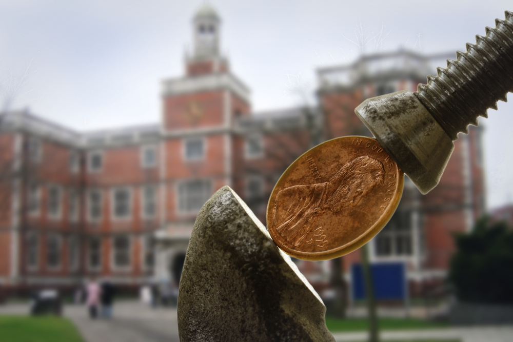 Financial Aid Squeezing Penny